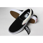 vans slip-on pro [Balck/White]