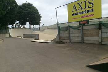 AXIS skate board park